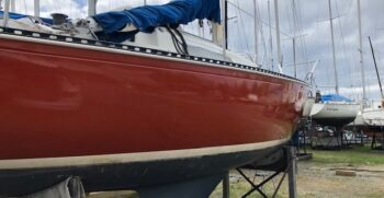 Starboard on the hard