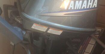6 HP Yamaha motor resized